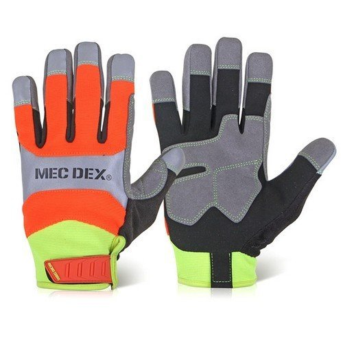 Mecdex MECFS-713L Function Plus Impact Mechanics Gloves Large