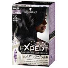 Schwarzkopf Color Expert Omegaplex Hair Dye, 1-0 Natural Black