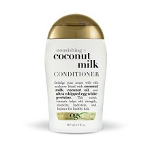 OGX Trial Size Nourishing Coconut Milk Conditioner, 3 Ounce