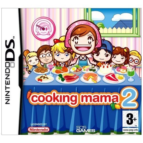 Cooking Mama 2 - Cooking Mama 2: Dinner With Friends (Nintendo DS)