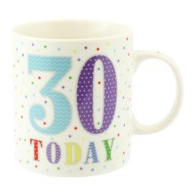 Lesser Pavey 30 Today Mug - Birthday Box New Fine China Official Party Product -  lesser pavey 30 today birthday mug box new fine china official