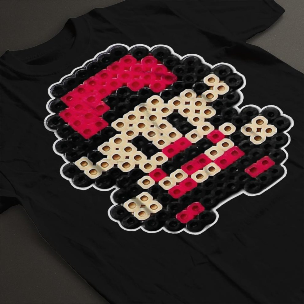 98a9d330f Pokemon Trainer Ash 8bit Pixel Character Bead Women's T-Shirt on OnBuy