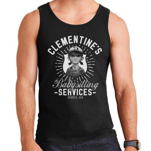 Clementines Babysitting Services Walking Dead Men's Vest