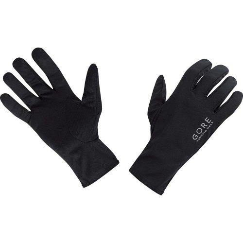 GORE RUNNING WEAR Men's Cool and Lightweight Running Gloves, GORE Selected Fabrics, ESSENTIAL Cool, Size: 9, Black, GESSCO