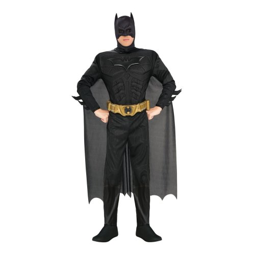 The Dark Knight Batman Costume   Adult Batman Costume