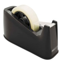 Rapesco 500 Heavy Duty Tape Dispenser, Tape Rolls up to 25 mm x 66 m - Black