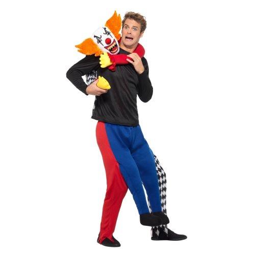 Piggy Back Kidnap Clown Costume   Halloween