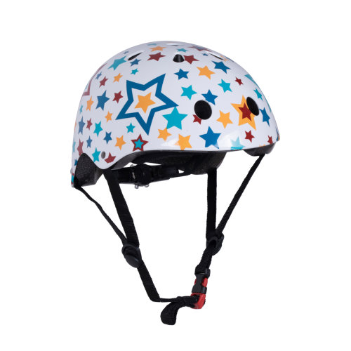 Kiddimoto Children's Bike / Scooter / Skateboarding Helmet - Star Design