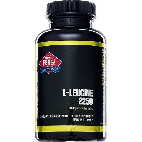 L-Leucine 2250Mg Per Serving–100Capsules–Essential Amino Acid