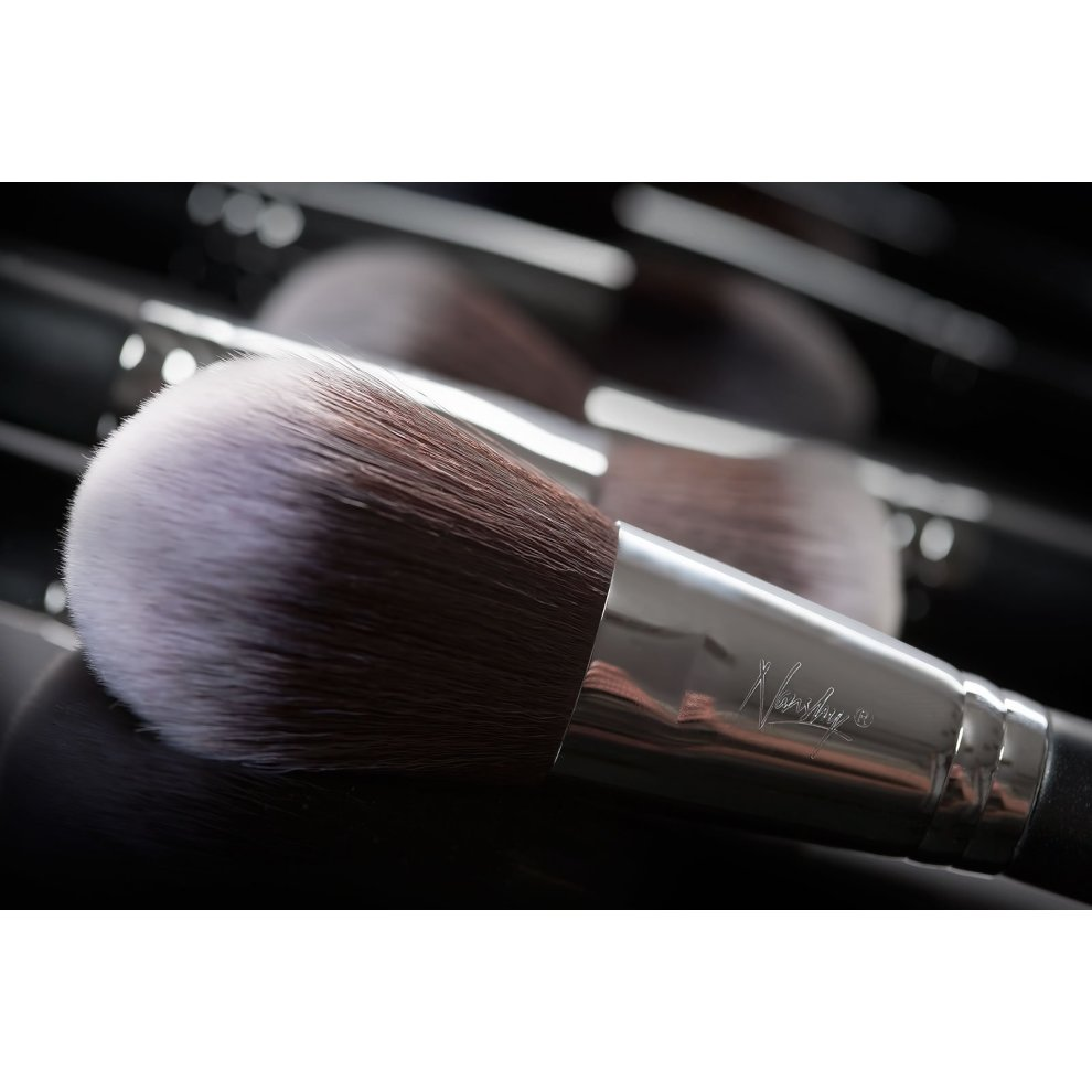 ... Nanshy Large Face and Body Powder Makeup Brush for cosmetic such as foundation, bronzer, ...