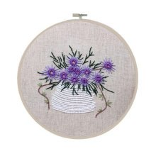 Embroidery Kit DIY Embroidery Nice Flower Pattern Gift Set