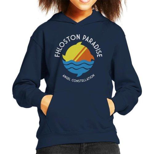 Fhloston Paradise Fifth Element Kid's Hooded Sweatshirt