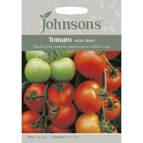 Johnsons Seeds - Pictorial Pack - Vegetable - Tomato Ailsa Craig - 50 Seeds