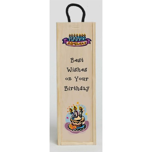 Birthday Best Wishes Wine Box