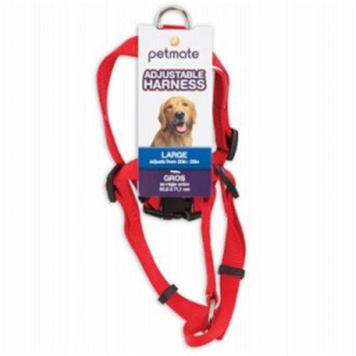 Petmate 223258 0.75 x 20-28 in. Harness, Red
