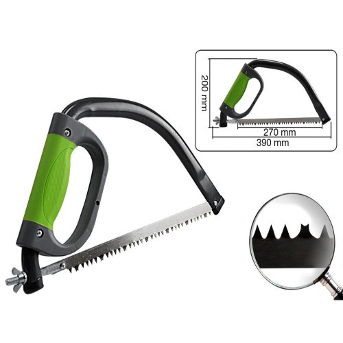 300mm Chrome Plated Pruning Saw -  saw pruning silverline 229062 300mm blade gardening