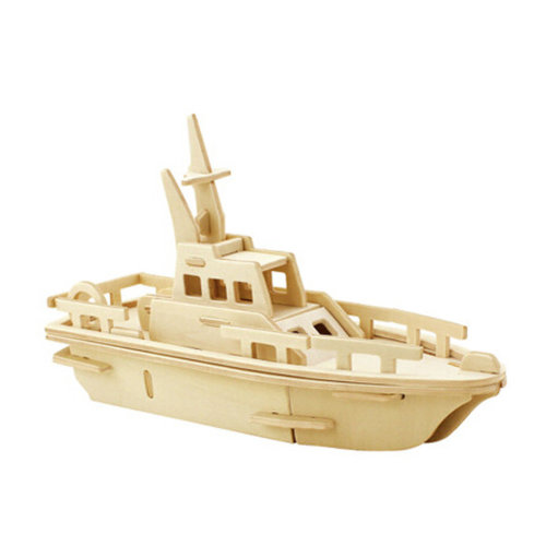 3-D Wooden Jigsaw Puzzle?Explosion-proof ship