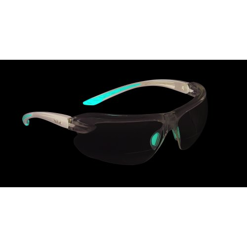 Bolle IRI-S Safety Glasses With Bifocal Dioptric Reading Area +3