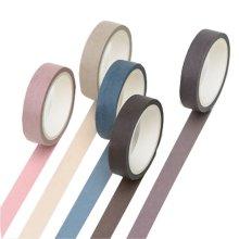 Decorative Washi Tape DIY Rain Sticker Masking Paper Set 15 Rolls