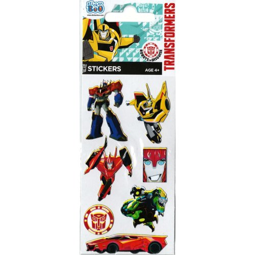 3pc Transformers Sticker Sheets | Set Of Transformers Stickers