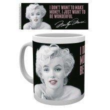 Marilyn Monroe Quote Mug