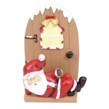 Santa Christmas Card Holder | Father Christmas Letter Rack
