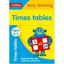 Collins Easy Learning Ks1: Times Tables Ages 5-7