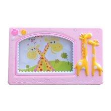 Creative Giraffe Baby&Kids Picture Frame Photo Frames Plastic Frames,Pink