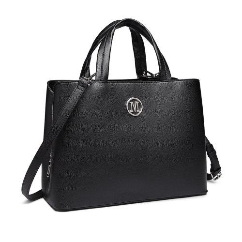 Miss Lulu Women Leather Handbag Shoulder Bag Tote