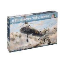 H-21 SHAWNEE FLYING BANANA - Model Kit - Italeri - 1/48