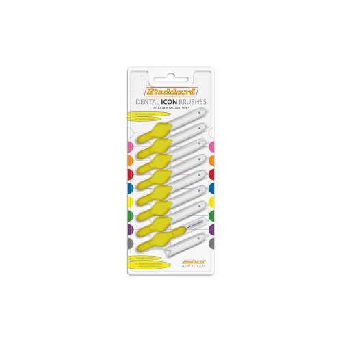 Stoddard Icon Interdental Brush - 0.7 Yellow - 8 per Pack