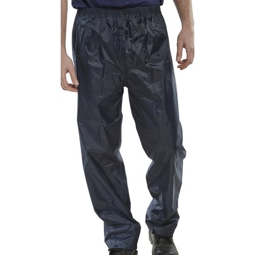 Click NBDTNL Nylon Waterproof Trousers Navy Blue Large