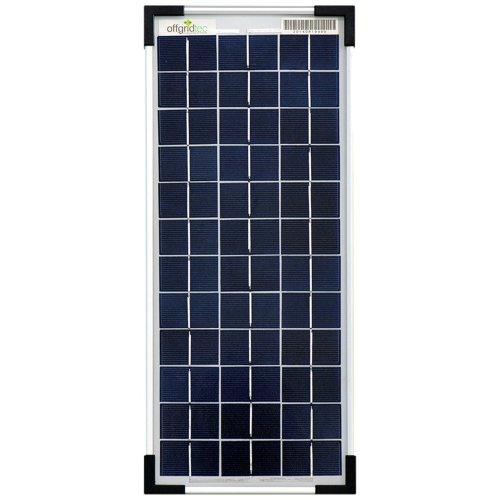 Offgridtec Solar Panel 10 Watt 12 V, 3–01–001565 Poly