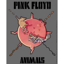 Licenses Products Pink Floyd Animals Sticker