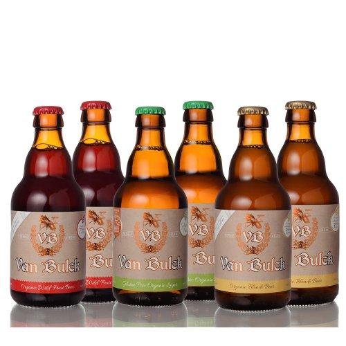 6pc Mixed Van Bulck Organic Belgian Beers | Organic Beer Tasting Pack