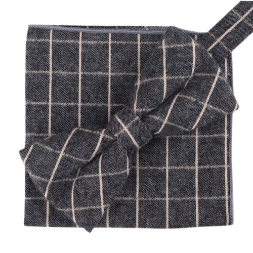 Fashion Casual Bow Tie Pocket Square Business Necktie Pocket Cloth NO.16