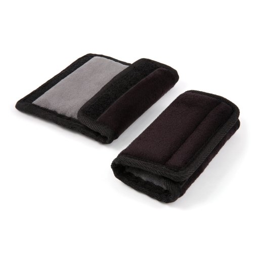 Diono Soft Wraps Car Seat Strap Covers (Black)