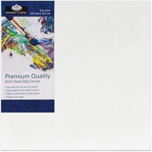 "essentials(TM) Premium Gallery Style Deep Edge Canvas-5""X5"""