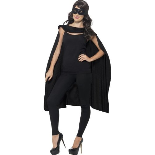 Smiffy's Men's Superhero Accessory Kit (black)