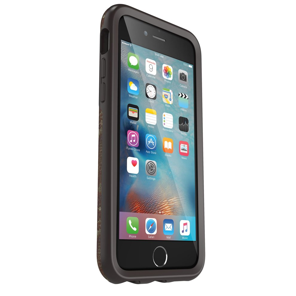best website 9d28e 13914 OtterBox Strada Series Bundle Wooded Serpent Case with Alpha Glass Screen  Protector for Apple iPhone 6/6S