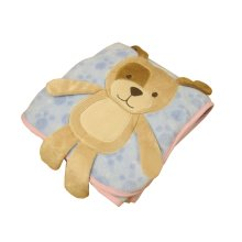 Cute Baby Thin Coral Fleece Blanket/ Infant Spring And Summer Quilt Bear