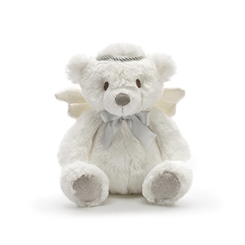 4f9edae26ff Nat And Jules Angel Bear With Silver Crown Soft White Childrens Plush  Stuffed Animal