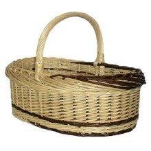 Rustic Willow Norfolk Shopping Basket