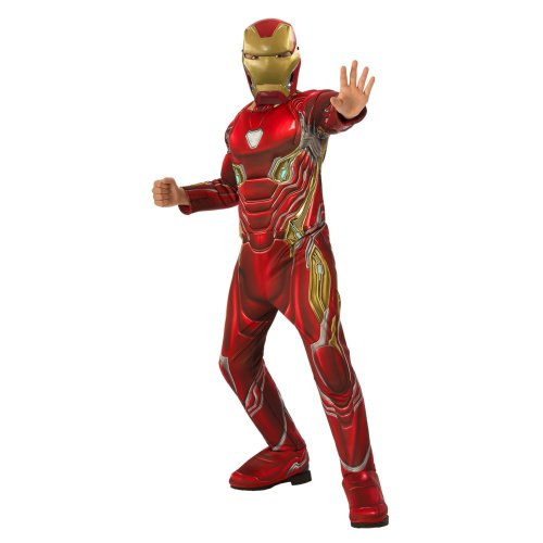Kids Official Deluxe Infinity War Iron Man Costume