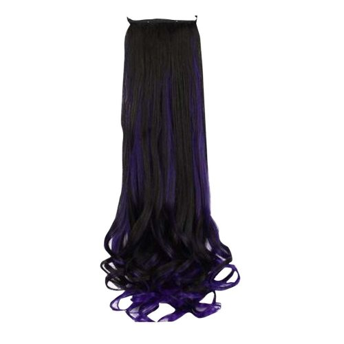 Synthetic Women Long Curly Wave Wig Hair Extension with Band
