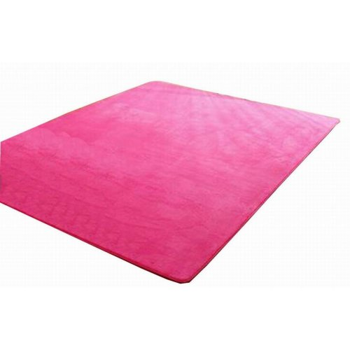 Baby Play Mat Crawling Activity Mat Gym Non-toxic Non-slip [Rose Red]