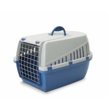 Trotter 1 Pet Carrier Airline Approved Blue/grey 49x33x30cm (Pack of 3)