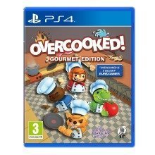 Overcooked Gourmet Edition Sony Playstation 4 Ps4 Game