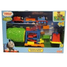 Fisher-Price Thomas & Friends Thomas and James Hard at Work Playset