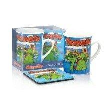 Nessie Mug & Coaster Set Loch Ness Monster Scotland Scottish Souvenir Gift